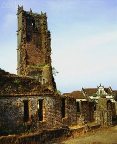 Church ruins, Old Goa, #mygoaproperty #goa #property for more info email on allproperty@devant.no