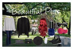 """Beautiful Plus"" by nathajimenez on Polyvore featuring moda, Avenue, Old Navy, H&M, Puma, Hanes, Calvin Klein, Kate Spade, Eos y Bobbi Brown Cosmetics"