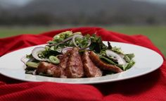 Thai Duck Breast Salad from one of my favorite chefs, Jet Tila!
