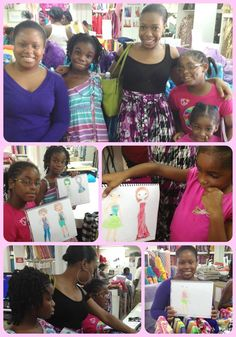Phylicia Ellis and her Zig Zag Sewing Designers visit us again to select fabric for their latest collections!