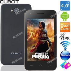 """Dual-Core Android 4.2.2 Smart Phone  http://www.tinydeal.com/ru/cubot-gt72-40-mtk6572-dual-core-android-422-smart-phone-p-98931.html?sk=19837045Uf  Недорогой брендовый телефон CUBOT GT72 4.0"""". Брал внуку. Они во втором классе уже ярые интернетчики и игроманы. Ну а данный телефон имеет хорошие показатели соотношения цены и качества. Версия Андройд 4.2.2. Немного маловато памяти, но для них пойдет."""