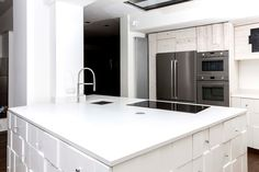 Find Absolute White, in Surface Products - Eurostone - Engineered Stone - Surfaces at Heritage Hardware Stone Bench, Engineered Stone, Kitchenware, Kitchen Design, Hardware, Colours, Home Decor, Cuisine Design, Decoration Home