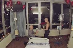 This Guy Proposed To His High School Sweetheart On Her Last Day Of Chemo