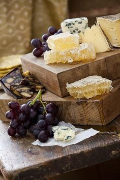 yes-iamredeemed:  cheese board..honeycomb