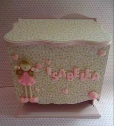 Baby Shawer, Pasta Flexible, Art Studios, Toy Chest, Storage Chest, Decoupage, Lunch Box, Country, Toys