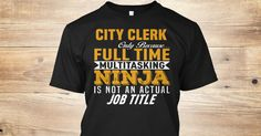 City Clerk Only Because Full Time Multitasking NINJA Is Not An Actual Job Title.  If You Proud Your Job, This Shirt Makes A Great Gift For You And Your Family.  Ugly Sweater  City Clerk, Xmas  City Clerk Shirts,  City Clerk Xmas T Shirts,  City Clerk Job Shirts,  City Clerk Tees,  City Clerk Hoodies,  City Clerk Ugly Sweaters,  City Clerk Long Sleeve,  City Clerk Funny Shirts,  City Clerk Mama,  City Clerk Boyfriend,  City Clerk Girl,  City Clerk Guy,  City Clerk Lovers,  City Clerk Papa…