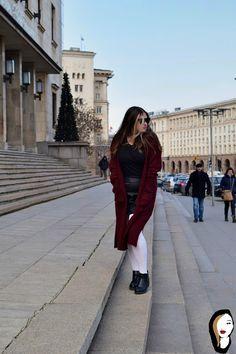 Fashion Confessions : Burgundy black day !