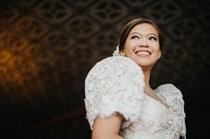 You Will Fall in Love with This Regal Filipiniana Wedding in Bataan! Simple Wedding Gowns, Perfect Wedding Dress, Simple Weddings, Wedding Blog, Wedding Colors, Wedding Stuff, Wedding Ideas, Wedding Dresses, Filipiniana Wedding Theme