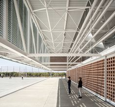 """Built by Gradolí & Sanz in Picanya, Spain The expansion of educational facilities of the """"Escola Gavina"""" involving the construction of a pavilion which can hos..."""