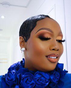 Makeup On Fleek, Flawless Makeup, Gorgeous Makeup, Makeup Geek, Beauty Makeup, Hair Makeup, Black Queen Makeup, Makeup For Black Skin, Black Girl Makeup
