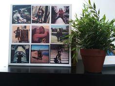 DIY: Como hacer un cuadro con fotos de instagram #photo #instagram #deco