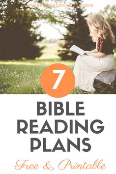 Bible Reading Plans Free Printable Downloads- One Year Bible, Chronological, Daily Through the Bible - Brooke Grangard Chronological Bible Reading Plan, Year Bible Reading Plan, One Year Bible, Printable Bible Reading Plans, Bible Study Plans, Bible Study Tips, Christian Life, Christian Women, Christian Living