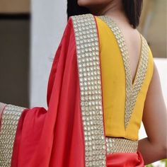 There are many blouse back designs 2019 which are trending this year and you can take a look at them in these latest blouse designs photos below. Kurta Designs, Saree Blouse Neck Designs, Saree Blouse Patterns, Fancy Blouse Designs, Designer Blouse Patterns, Bridal Blouse Designs, Designer Saree Blouses, Indian Blouse Designs, Skirt Patterns