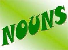 Nouns powerpoint for interactive whiteboard