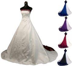 New Strapless Satin Wedding Dress Gown Custom Size 2 4 6 8 10 12 14 16 18 20 22+