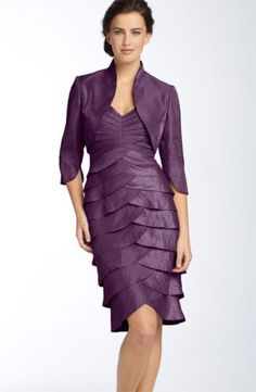 Beautiful purple dress for the mother of te bride or groom