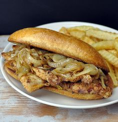Chicago-style Pork Chop Sandwich — South side, baby!