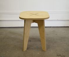 I made these stools for an artwork about Chess called Orthogonal/Diagonal. The functional joints in the stools also highlight the idea of the orthogonal and diagonal movements on a Chess board.
