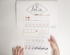 pegatinas calendario 2014 Pegatinas para vuestro calendario. ¡Descárgatelas Gratis!