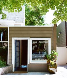 sarah winward's floral shop makeover from a plumbing shop