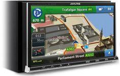 Unitate multimedia DVD auto IVA-W502R la Pret Accesibil - Auto > Dispozitive Auto Alpine
