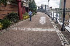 Belfast - Starboard By Rachel Joynt (Greggs Quay) Derry City, Fiber Optic Lighting, Greggs, Belfast, Public Art, Irish, Deck, Outdoor Decor, Design