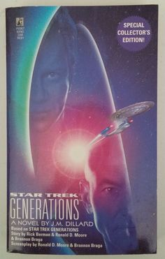 "The story begins with the launching of the ""U.S.S. Enterprise"" TM NCC-1701-B and the mysterious disappearance of Captain James T. Kirk. Then, seventy-eight years later, Captain Jean-Luc Picard of the"