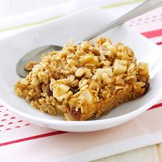 Gluten-Free Baked Oatmeal Recipe -This fruity, delicious oatmeal would be so good served with vanilla soy milk. Give it a try! — Jennifer Banyay, NorthRidgeville, Ohio