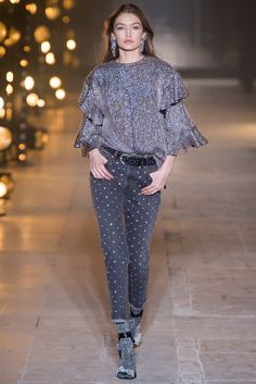 Vogue.com | Fall 2017 Isabel Marant