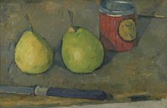 Paul Cézanne Poires et couteau