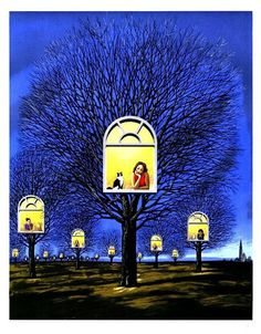 Surreal art by Rafal Olbinski