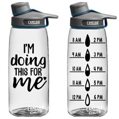 Beauty & Wellness Deals: Cleansing Masks, Essential Oils, and Water Bottle Tracker, Cute Water Bottles, Back To School Essentials, Drinking Fountain, Water Bottle Design, Stainless Steel Types, Organizer, Vinyl Decals, Free Shipping