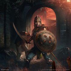 Blades Guardian by Geunjoo Baik : armoredwomen The Elder Scrolls, Elder Scrolls Skyrim, Elder Scrolls Online, Character Concept, Character Art, Concept Art, Fantasy Armor, Medieval Fantasy, Dark Souls