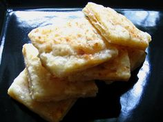 Spicy Parmesan Crackers