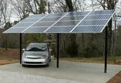 Germans Encouraged to Roof Carports with Solar Panels & CleanTechnica Solar Energy Panels, Solar Panels For Home, Best Solar Panels, Solar Energy System, Solar Power, Wind Power, Installation Solaire, Solar Panel Installation, Ideas Paneles