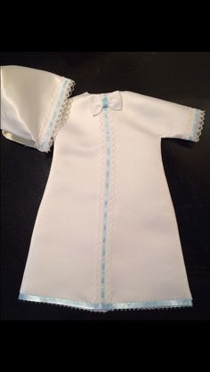 Another tiny micro preemie Angel Gown for a little boy. Only my 4th for a boy.