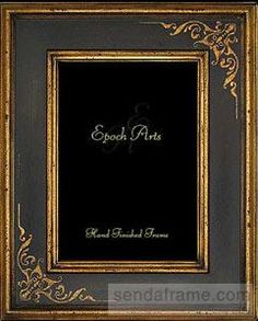 SEINE Black With Gold Reproduction By Epoch Arts® Picture Frames Photo  Albums And Gifts