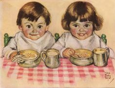 """The art of making children like what's """"Good For Them""""   Vintage childrem"""