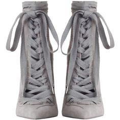 9cd925bc01 ZIMMERMANN Lace Up Ankle Boot ( 995) ❤ liked on Polyvore featuring shoes