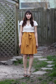 that skirt is quite possibly one of the most glorious things I've ever seen. (via veronika of tick tock vintage.)