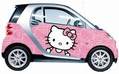 Girl Smart car :)