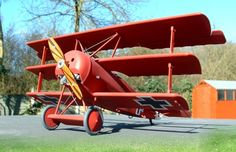 """1/28 Revell Fokker Dr.1 """"The Red Baron"""" by Dean Large"""