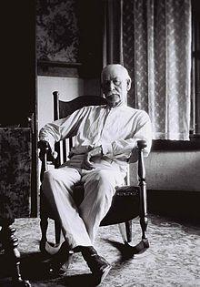 Wyatt Earp, age 79, circa 1928