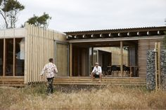Stylish Beach Shelter by Herbst Architects, Kaitoke Beach, Great Barrier Island off Auckland New Zealand