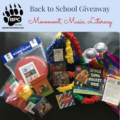 """This is the biggest giveaway to date and I'm super excited to share it with you. This will run all month long with the winner announced on September 1. MSRP total = $427.90  Barefoot Books Yoga Pretzel Cards and """"Space Song Rocket Ride"""" book ~ $24.98 Bear Paw Creek XL Stretchy Band ~ $85 Bear Paw Creek Hoop Ribbon Rainbow Streamers/4 sets ~ $120 Bear Paw Creek Balloon Ball ~ $18 Bear Paw Creek Square Bean Bags (2 sets) ~ $36 Dynamic Lynks """"Calm Down Kit"""" ~ $15 Creative Kids Yoga D..."""