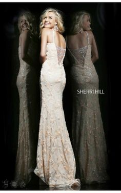 Embellished Long Gown by Sherri Hill 4311Outlet