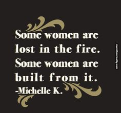 Some women are lost in the fire.