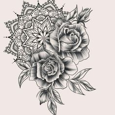 Tattoo Arm Rose Sunflower Ideas for 2019 - # Mandala Tattoo # Tattoos - diy tattoo images - Form Tattoo, Shape Tattoo, Diy Tattoo, Tattoo Arm, Tattoo Ideas, Trendy Tattoos, New Tattoos, Body Art Tattoos, Sleeve Tattoos