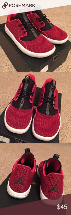 181d092eb61fc7 Red Black White Jordan Eclipse Sneaker!! Size
