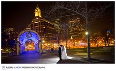 Amelia and Keith marry on new year's eve in downtown boston by Russell Caron Wedding Photography